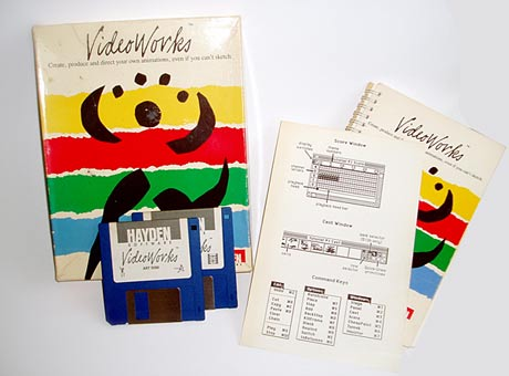 Videoworks box and disks